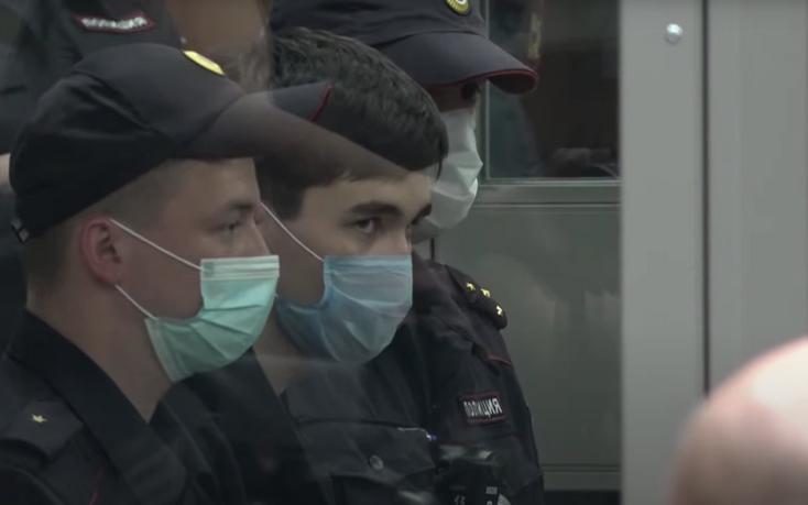 Ильназ Галявиев в зале суда. Фото  Скриншот YouTube: https://www.youtube.com/watch?v=OOtmVvKFHSY.