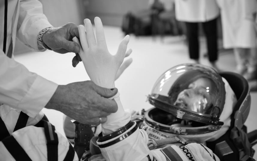 """«Вызов» расскажет о девушке, которая в силу обстоятельств вынуждена за месяц подготовиться к полёту и отправиться на МКС. Фото Саша Гусов, фото предоставлены пресс-службой """"Первого канала"""""""