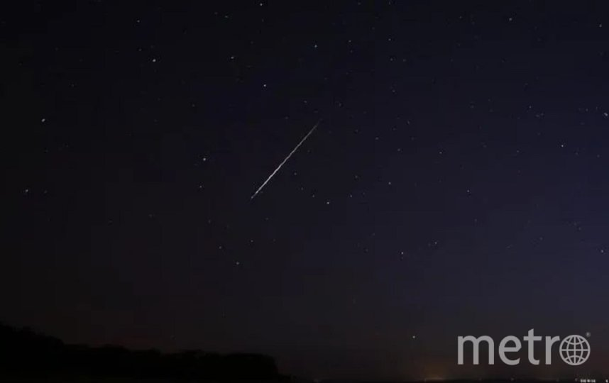 Кадрами звездного дождя поделились очевидцы в соцсетях. Фото t.me/astrophotoboloto/Катя Стрельникова/