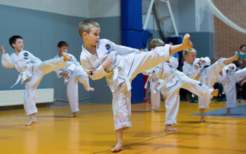 В тхэквондо от длины ноги зависит скорость работы. Фото Санкт-петербургская спортивная федерация тхэквондо.