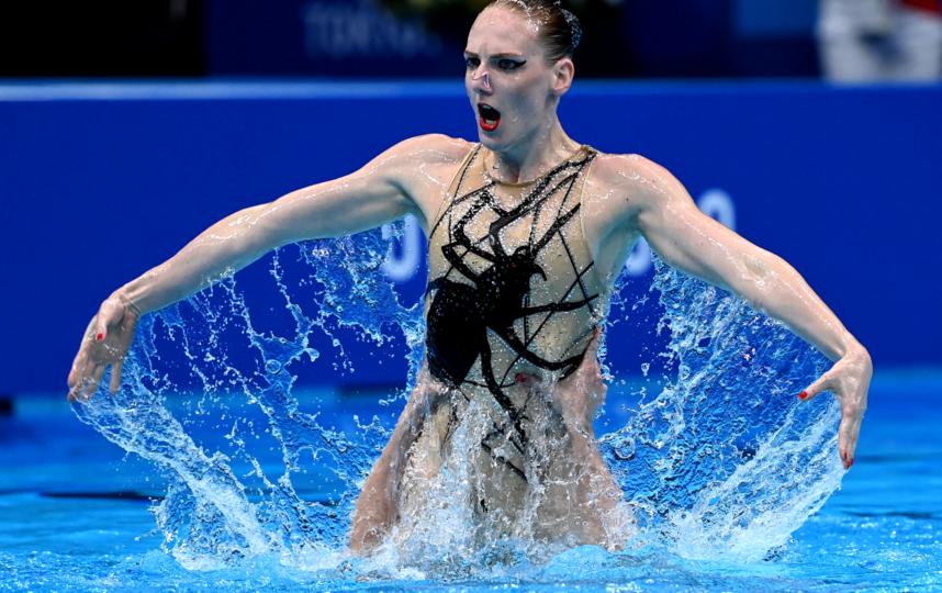 Светлана Ромашина. Фото AFP