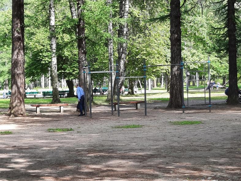 В Удельном парке появятся новые спортивные и танцевальные площадки. Фото Сергей Малинин., vk.com