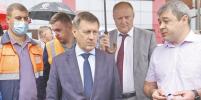 Двойной ремонт на ул. Волочаевской закончится в сентябре