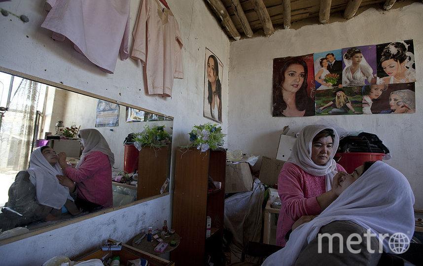 Афганские женщины в последние годы посещали салоны красоты. Фото Getty