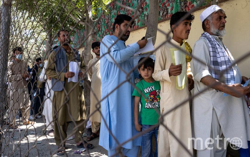 Жители Афганистана пытаются спешно покинуть страну. Фото Getty