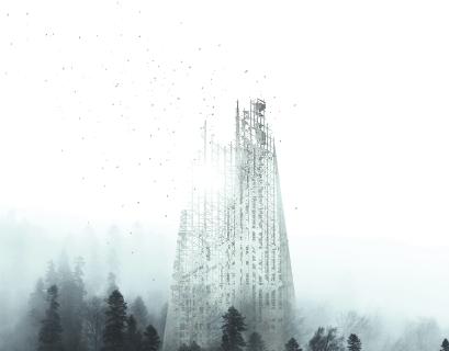 Со временем этот небоскрёб просто исчезнет с лица земли.