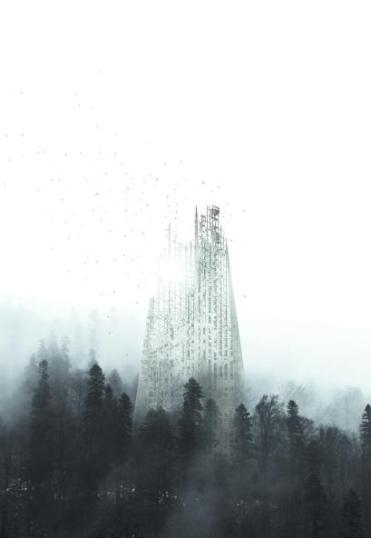 Со временем этот небоскрёб просто исчезнет с лица земли. Фото Metro World News.