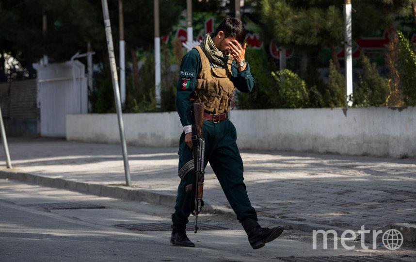В воскресенье власть в Афганистане передали талибам* (террористическая организация, запрещенная в России). Фото Getty