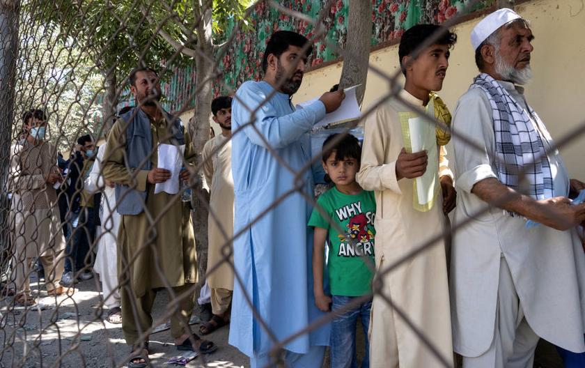 15 августа талибы взяли Кабул. Фото Getty.