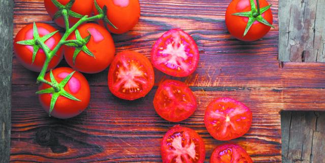 """Чтобы томаты не заболели их нужно """"ослепить""""."""