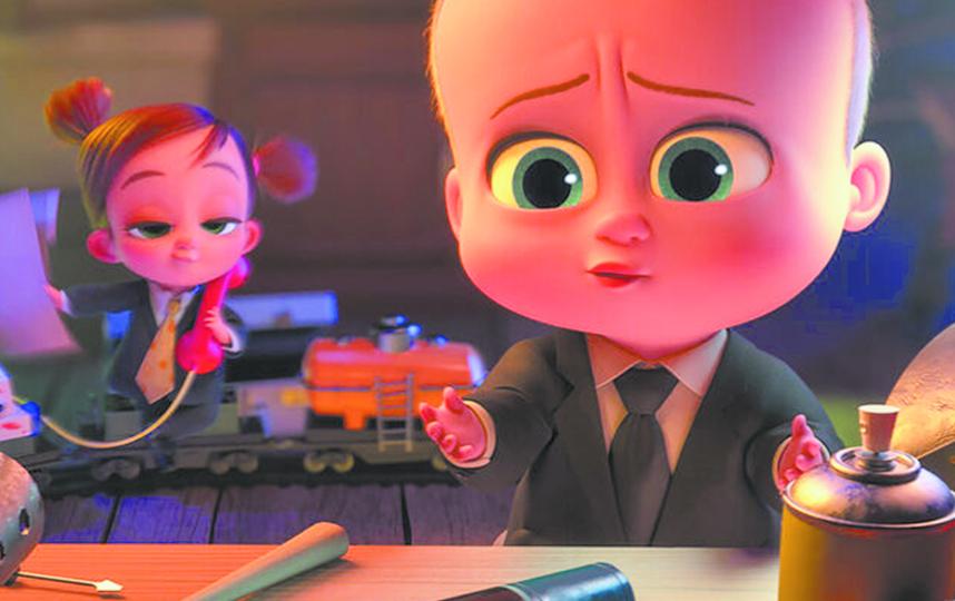 """""""Босс-молокосос 2"""". Фото Кадр из мультфильма."""