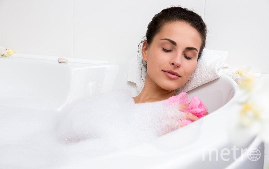 Принятие ванны в наше время становится роскошью. Фото depositphotos.