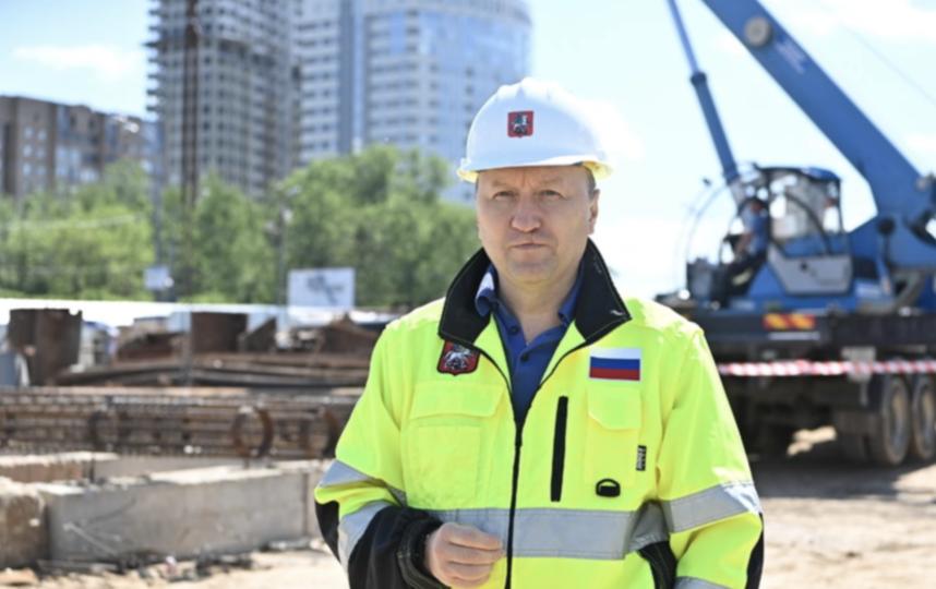 Андрей Бочкарёв. Фото Пресс-служба Комплекса градостроительной политики и строительства города Москвы