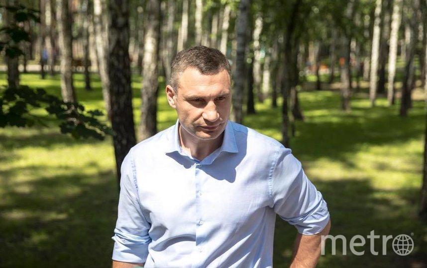 Виталий Кличко. Фото https://www.facebook.com/Vitaliy.Klychko