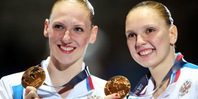 Светлана Колесниченко (справа), олимпийская чемпионка Токио.