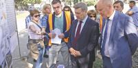Масштабный ремонт дорог Левобережья завершат в октябре