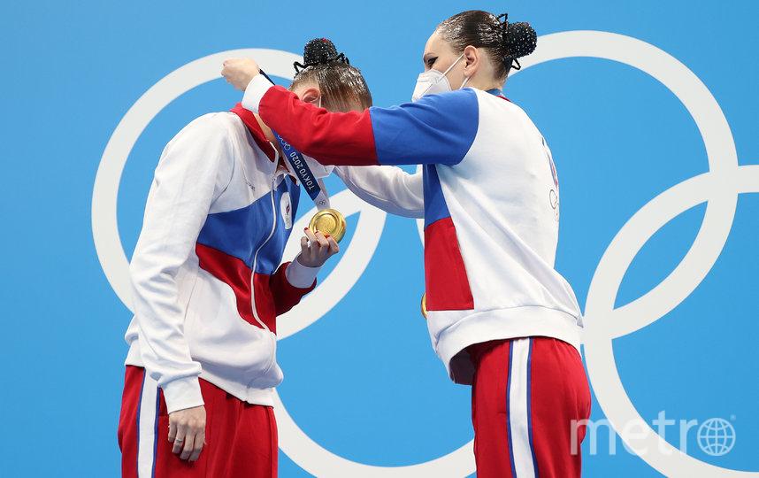 Колесниченко и Ромашина. Фото Getty