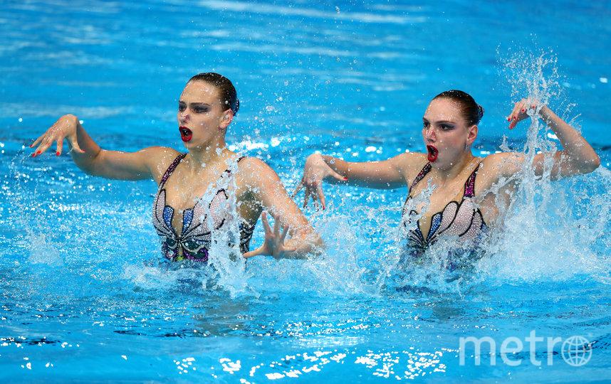 Варвара Субботина (слева) и Светлана Колесниченко. Фото Getty