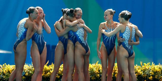 Светлана Колесниченко – в команде синхронисток на Олимпиаде в Рио, завоевавших золото.