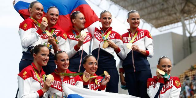 На пьедестале в Рио можно было стоять с российским флагом.