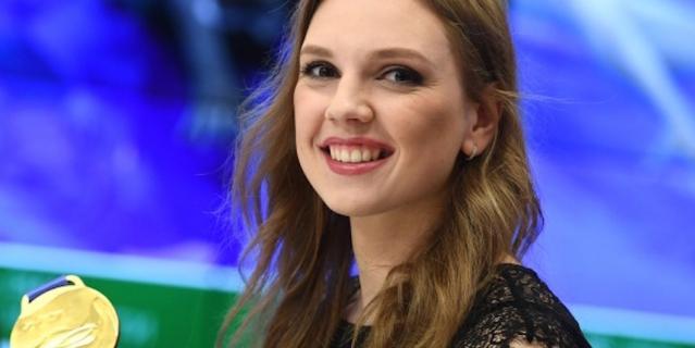 Светлана с медалью чемпионата мира.