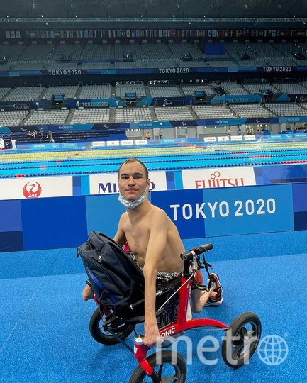 Первые тренировки в олимпийском бассейне. Фото Instagram: @vladimirdanilenko_