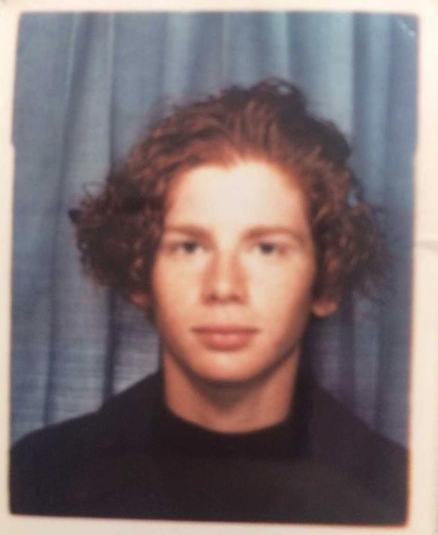 Так Тристан Ли выглядел в 20 лет. Фото Фото предоставлено героем публикации.