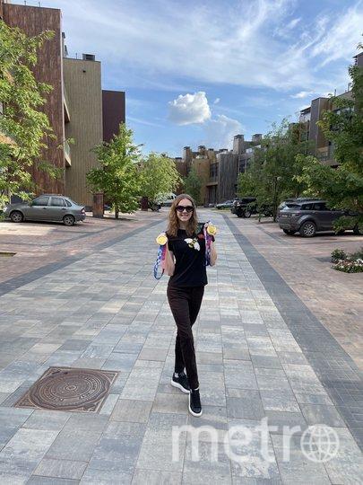 Светлана на прогулке, неподалёку от своего дома. Фото из личного архива Светланы