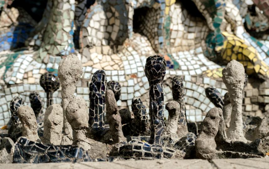 """Мозаичный дворик находится на углу ул. Чайковского и набережной реки Фонтанки. Фото Алена Бобрович, """"Metro"""""""