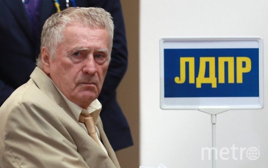 Владимир Жириновский. Фото РИА Новости