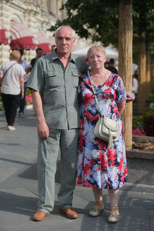 Семён (слесарь) и Надежда (пенсионерка). Фото Василий Кузьмичёнок