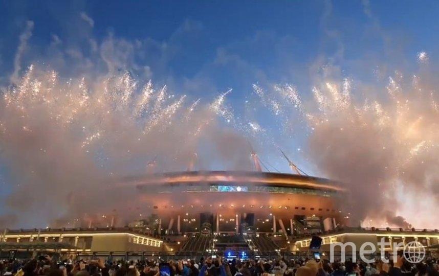 Финал турнира пройдет 28 мая 2022 года на «Газпром Арене». Фото vk.com/andreyzenitspb.