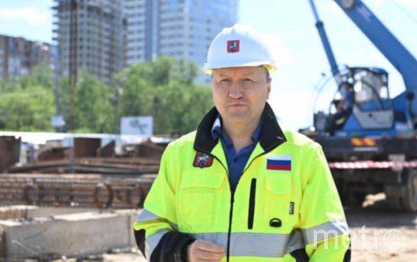 Андрей Бочкарев. Фото пресс-служба комплекса градостроительной политики и строительства Москвы.