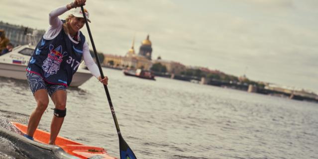 Ольга Раскина преодолела дистанцию быстрее всех соперниц.
