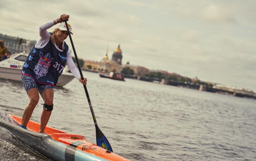 Ольга Раскина преодолела дистанцию быстрее всех соперниц. Фото Денис Клеро. Red Bull Content Pool.