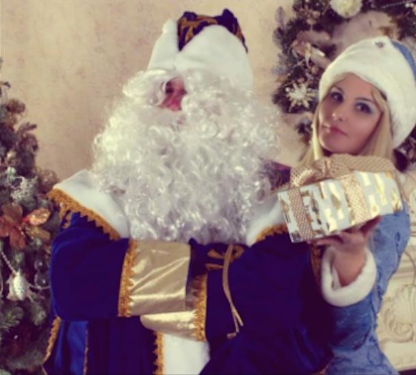 Максимилиан Потёмкин в роли Деда Мороза. Фото Фото предоставлено героем публикации.