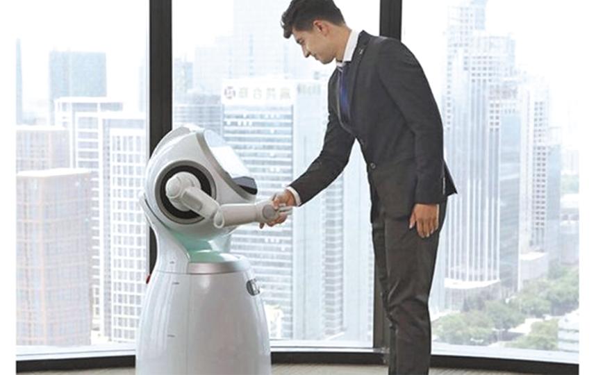 Основу робота составляет программный продукт, который разработали несколько компаний, в том числе iVoice technology – авторы голосового помощника робота Николая. Фото WWW.IVOICE.TECH