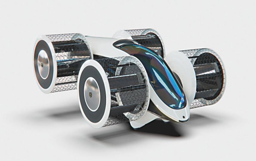 В 2020 году учёные уже провели лётные испытания прототипа «Циклокара». Фото  WWW.ITP.NSC.RU