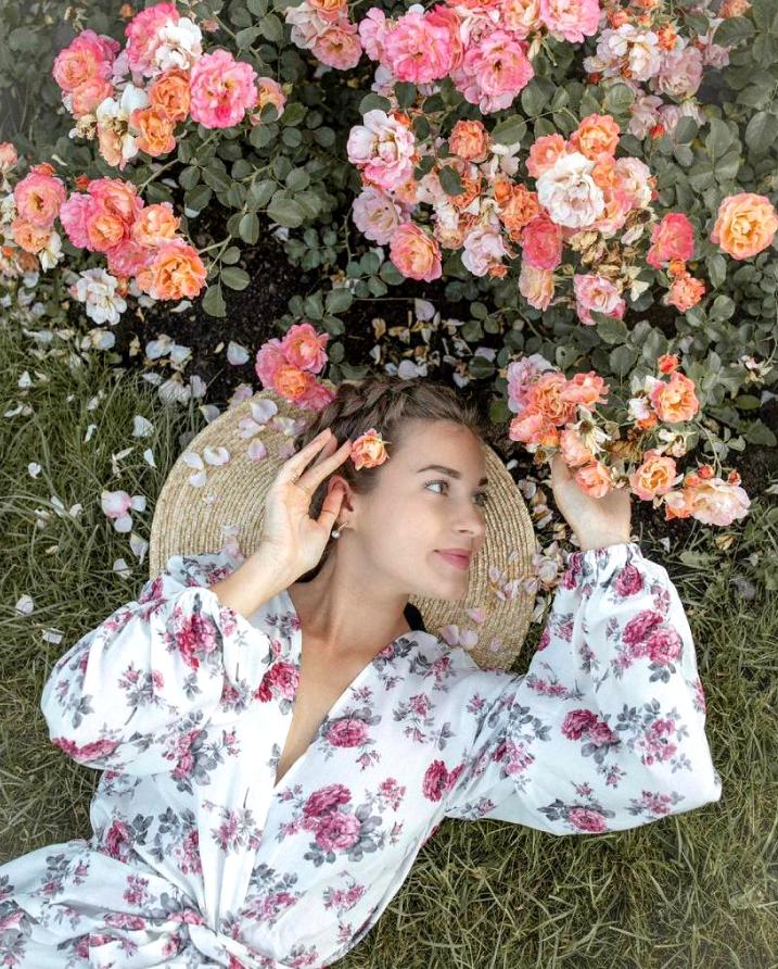 """""""Сокольники"""", Большой розарий. Фото Скриншот Instagram @missis_oleana_mva"""