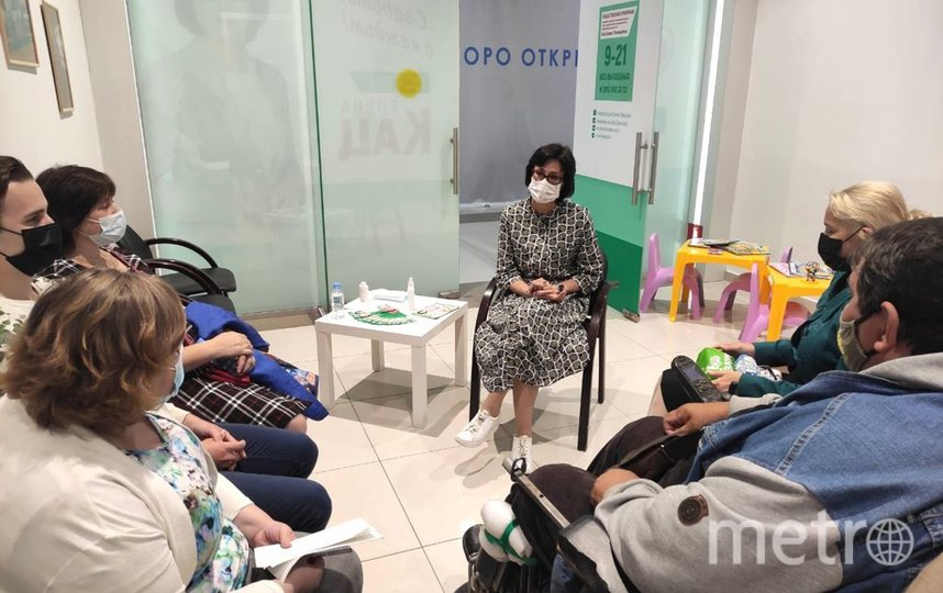 В Москве прошла встреча с детьми-инвалидами и их родителями. Фото Дарья Сорокина