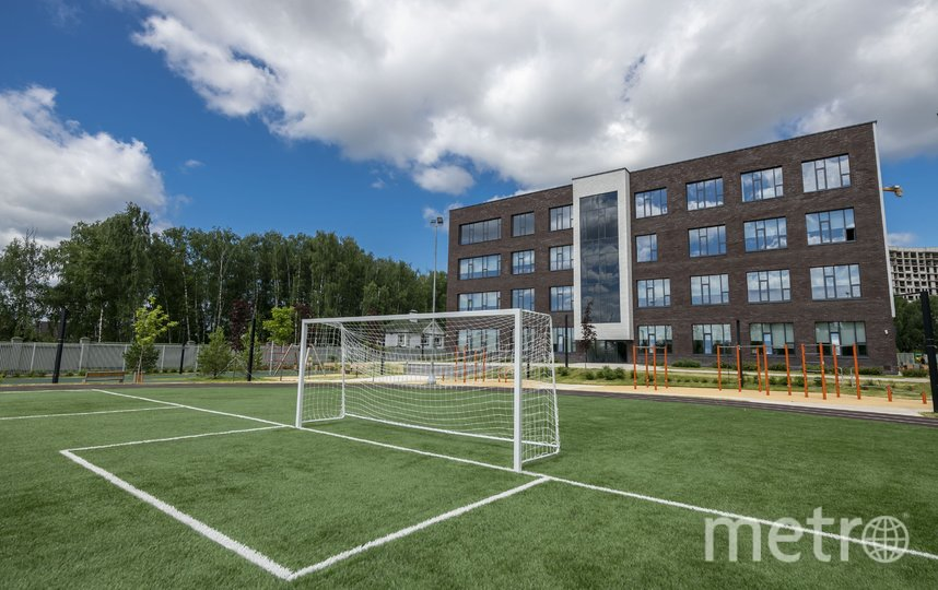 В ходе благоустройство было создано 10 межшкольных стадионов крупных спортивных комплексов. Фото Агентство «Москва»