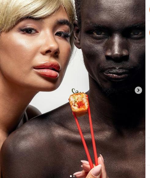 Эта пара возмутила расистов. Фото tanuki.official/Instagram/Depositphotos