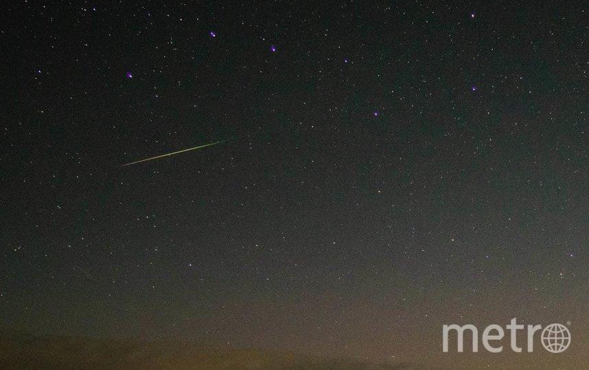 Северное сияние озарило небо над Ладожским озером в ночь на 1 сентября. Фото t.me/astrophotoboloto/Катя Стрельникова.