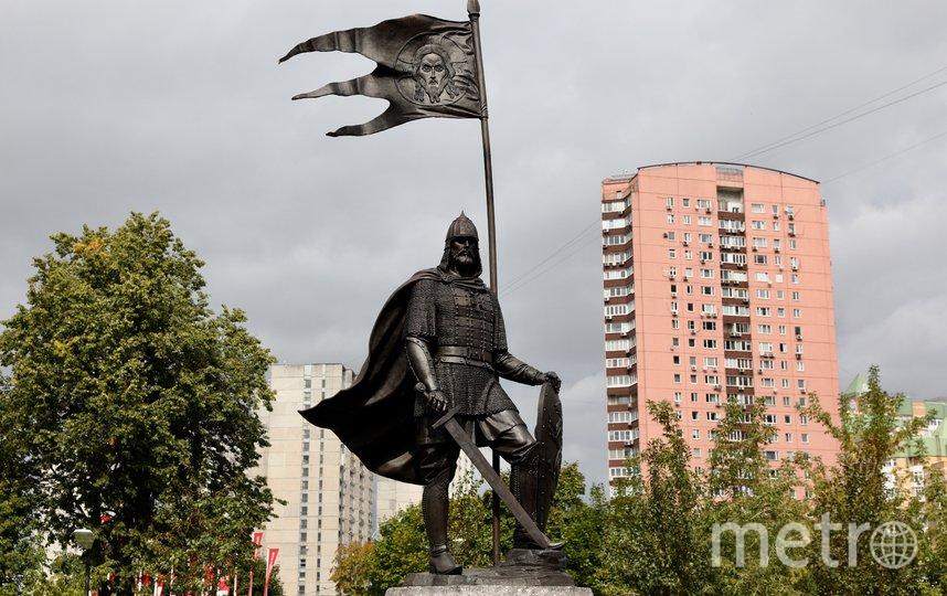 Памятник Александру Невскому на ул. Лобачевского в районе Проспект Вернадского. Фото Агентство «Москва»