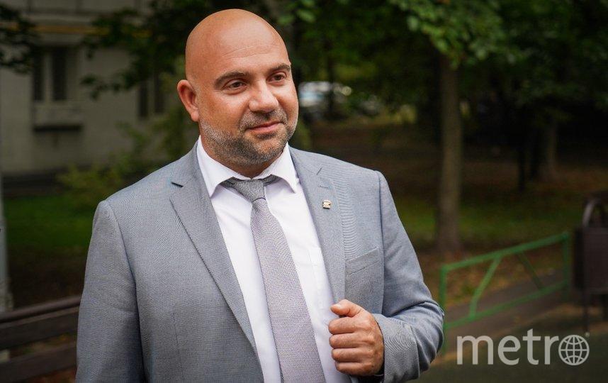 Журналист и телеведущий Тимофей Баженов. Фото Максим Манюров