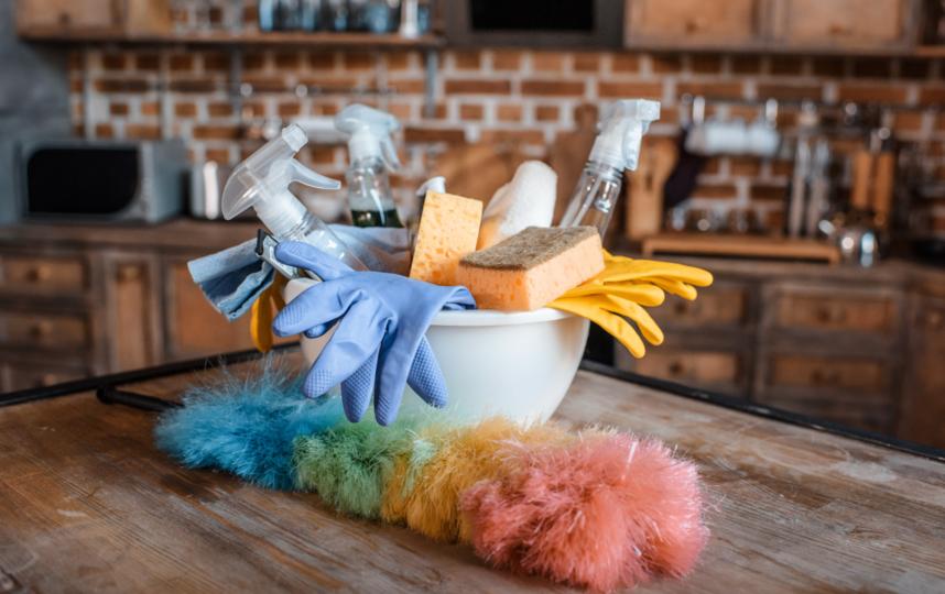 Процесс уборки потребует от вас тщательной подготовки. Фото Depositphotos