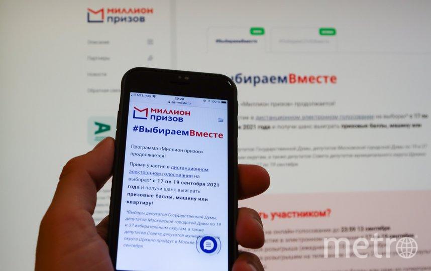 Процесс электронного голосования будет распространяться по всем субъектам России. Фото Агентство «Москва»