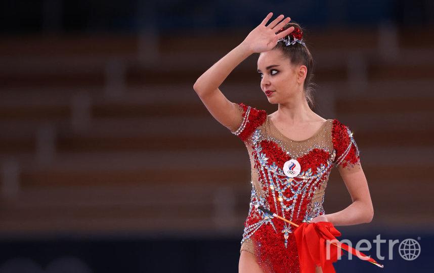 Дина Аверина на Олимпиаде в Токио стала второй. Фото Getty