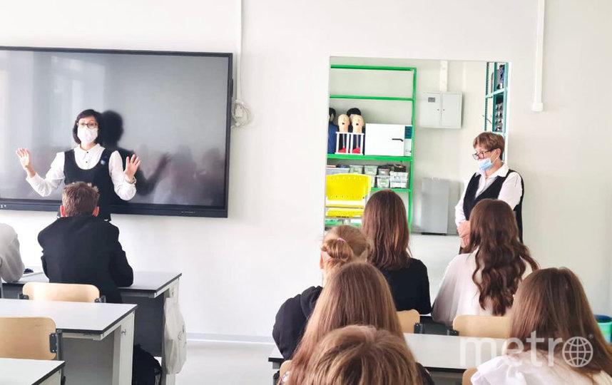 Депутат рассказала учащимся медицинских классов о специфике работы врача. Фото Дарья Сорокина