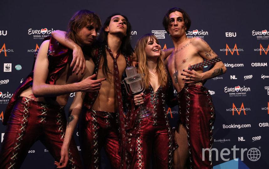 Группа Maneskin. Фото Getty
